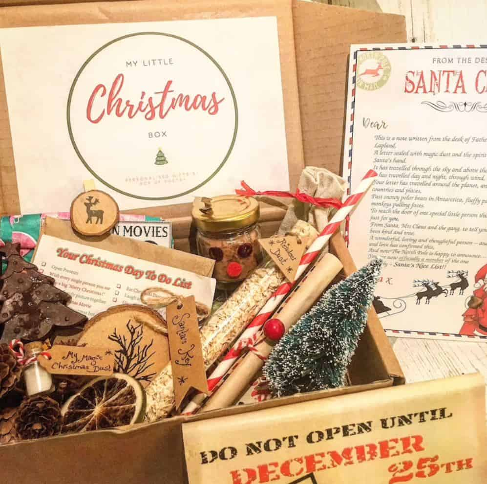 christmas eve box gift ideas for friends