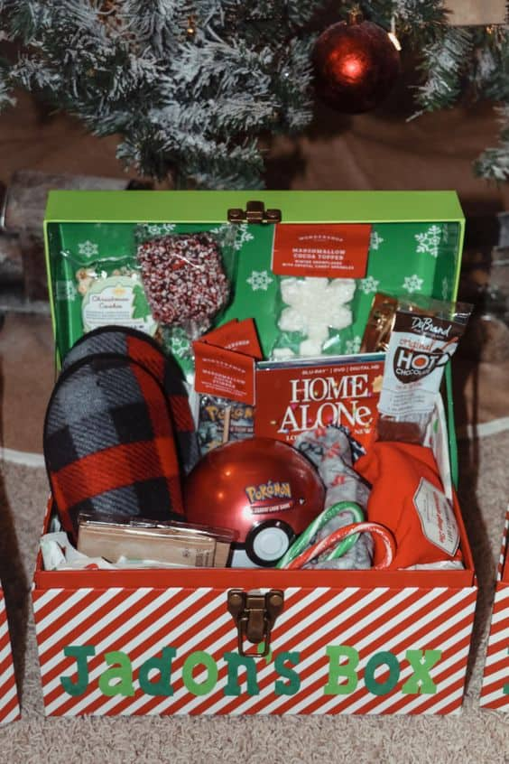 christmas eve box ideas cute cozy gift box