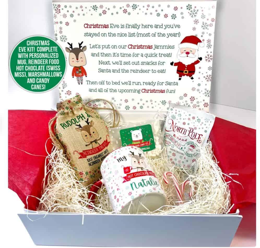 christmas eve box ideas elve and santa