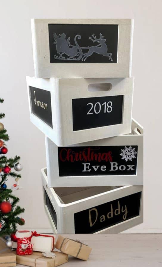 christmas eve box set for family