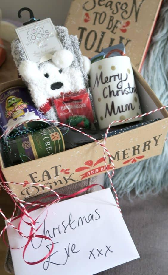 christmas eve boxes ideas cute diy box