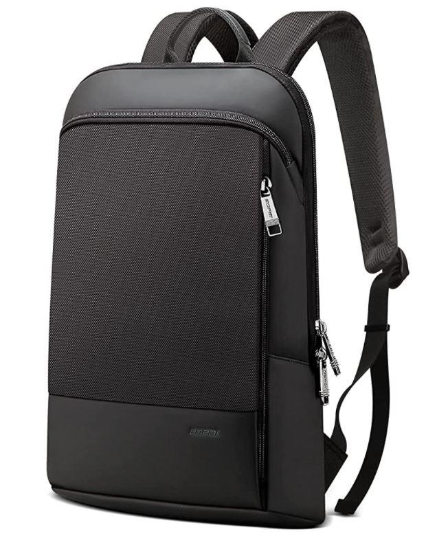 college backpack for men super slim slim backpack for laptop and books