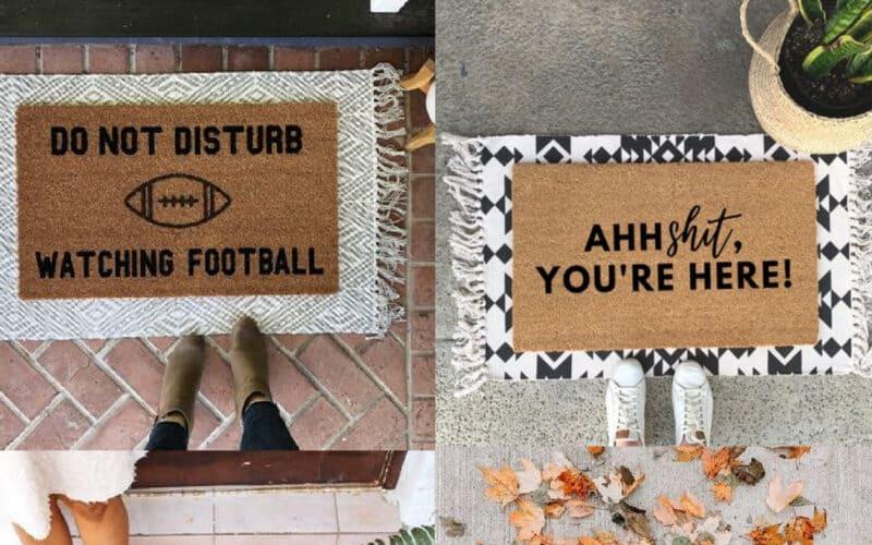 15 Layered Doormat Ideas