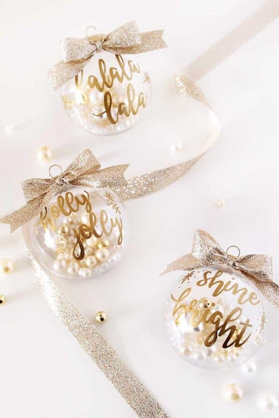 diy christmas gifts your friends will love shine bright ornaments