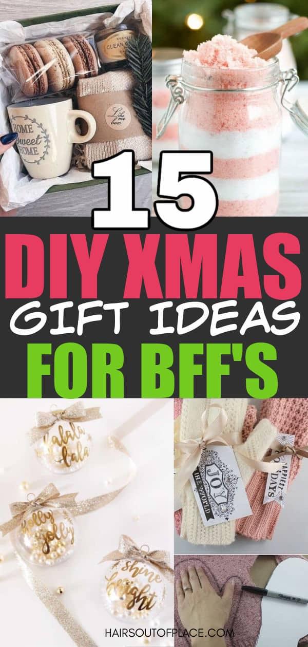 diy Christmas presents for best friends Pinterest pin