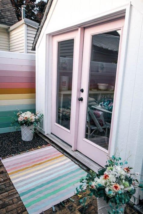doormat idea cute funky doormat style and colorful front door area
