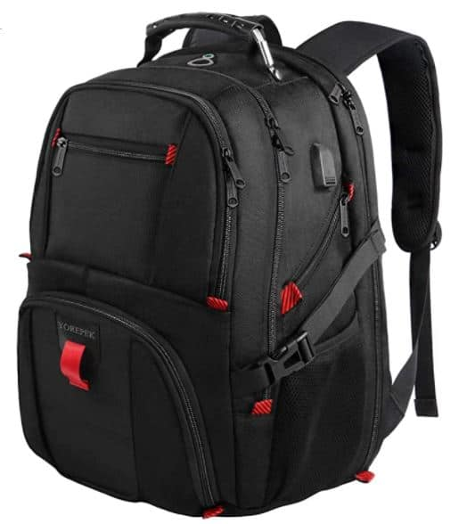 extra large backpack for men larger backpack for gaming and holding larger items