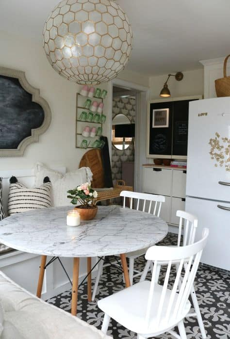 hacks for organizing small space small kitchen table