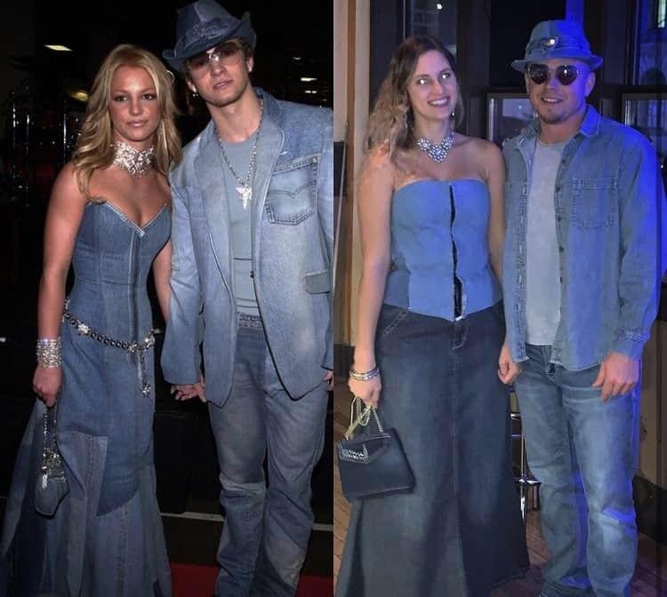 halloween couple costume Britney spears