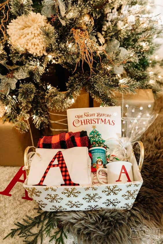 ideas for christmas boxes plaid gift box