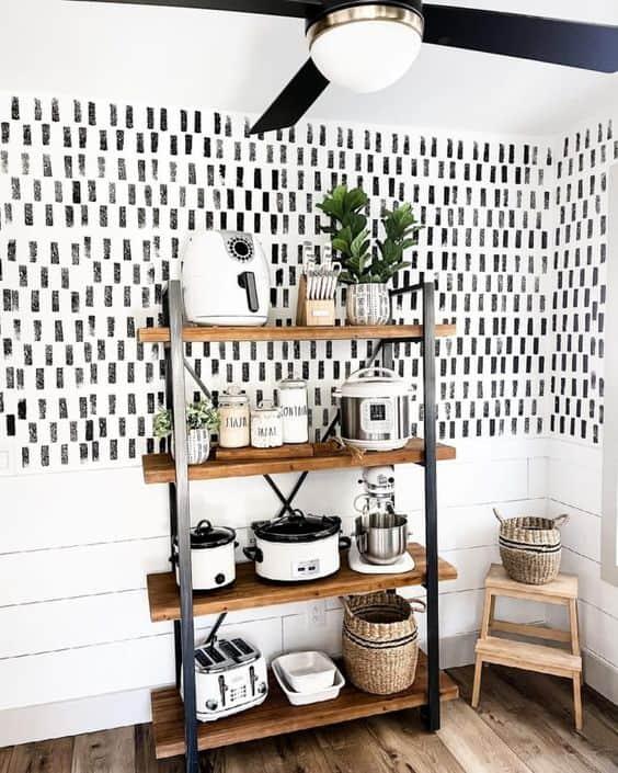 ideas for small space organization kitchen storage shelve