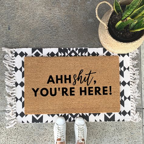 layered doormat cutest ideas you're here! doormat with super cute rug underneath