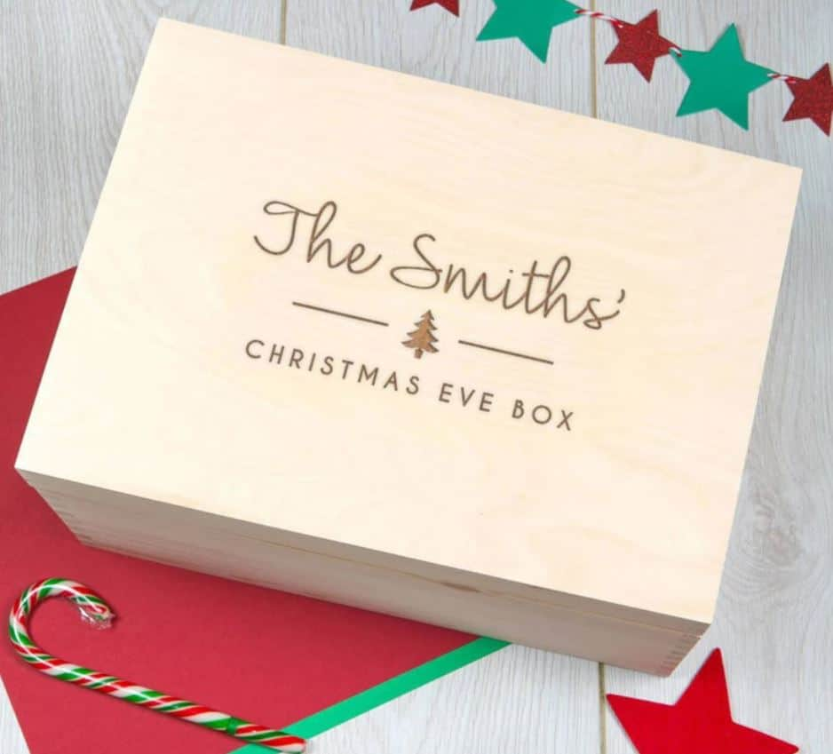 personalized christmas eve box to buy family personalized box