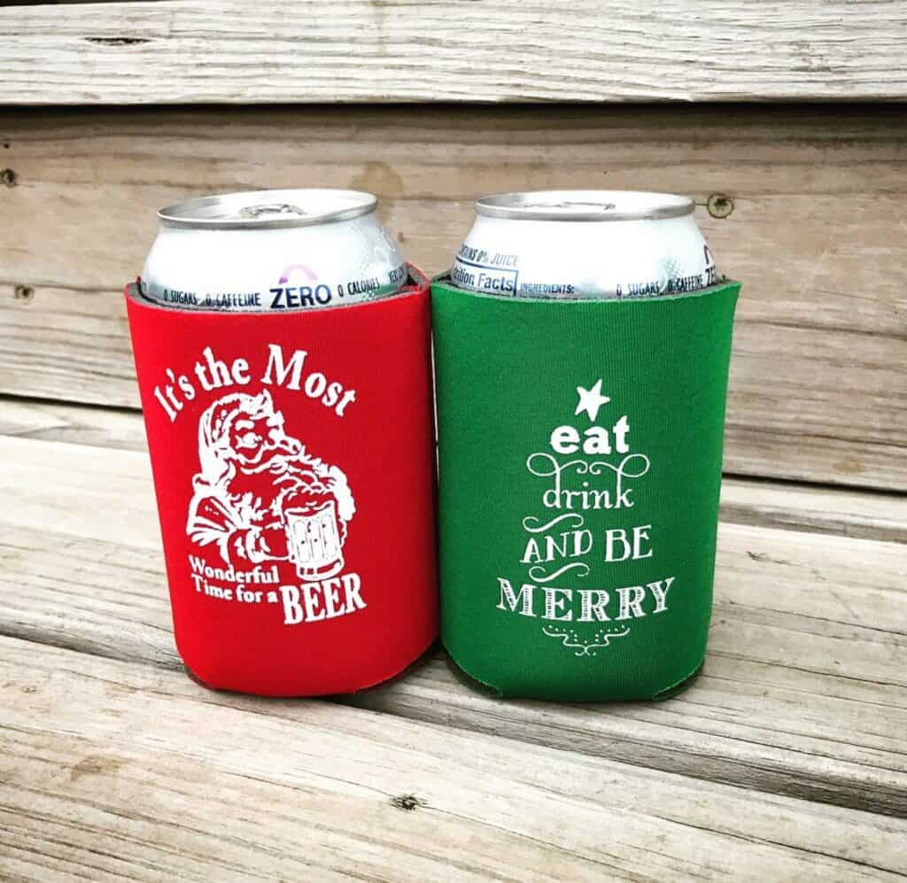 funny easy stocking stuffer idea for boyfriend etsy, christmas drink coozie